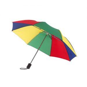 Umbrela poseta manuala automata colorata saculet deschidere inchidere serigrafie termotransfer ploaie