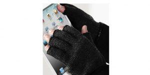 Manusi acryl fara degete touchscreen