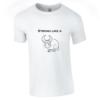 Tricou bumbac dama unisex alb negru imprimat serigrafie Bull | Toroadv.ro
