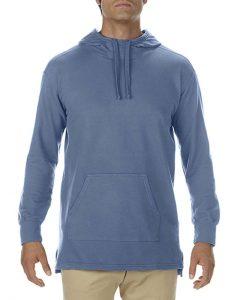 Hanorac hoodie denim barbati bumbac unisex serigrafie broderie termotransfer