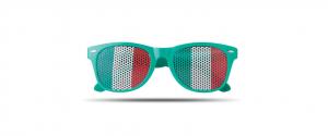 Ochelari soare plastic UV tampografie steag lentila