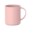 Cana roz Astoria MO9426 300 ml bambus polipropilena eco-friendly personalizata tampografie