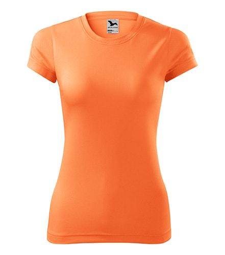 Neon mandarine Tricou dama tehnic Adler Malfini Fantasy 100%poliester 150 g/mp extra-dry serigrafie termotransfer sublimare | Toroadv.ro