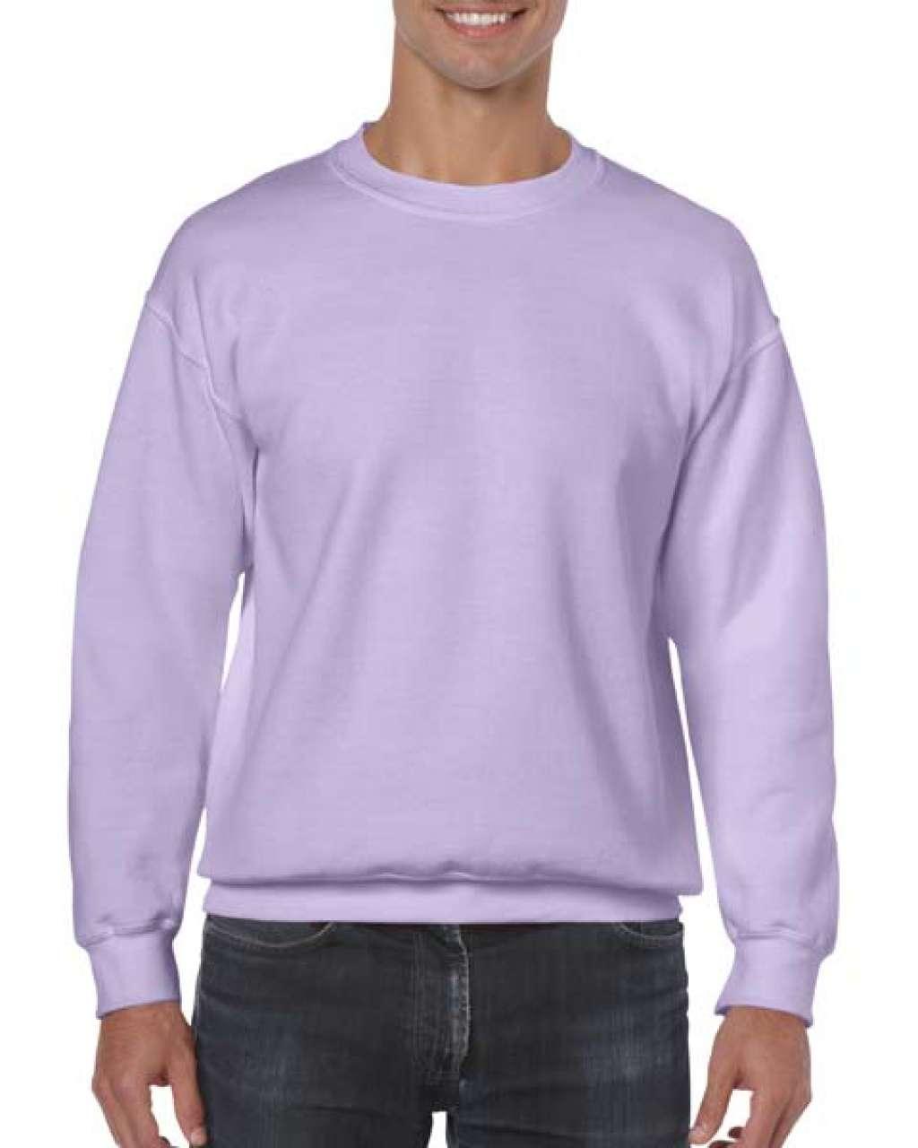 Sweater unisex Gildan Heavy Blend 50%bumbac 50%poliester 271 g/mp interior pufos serigrafie broderie termotransfer | Toroadv.ro