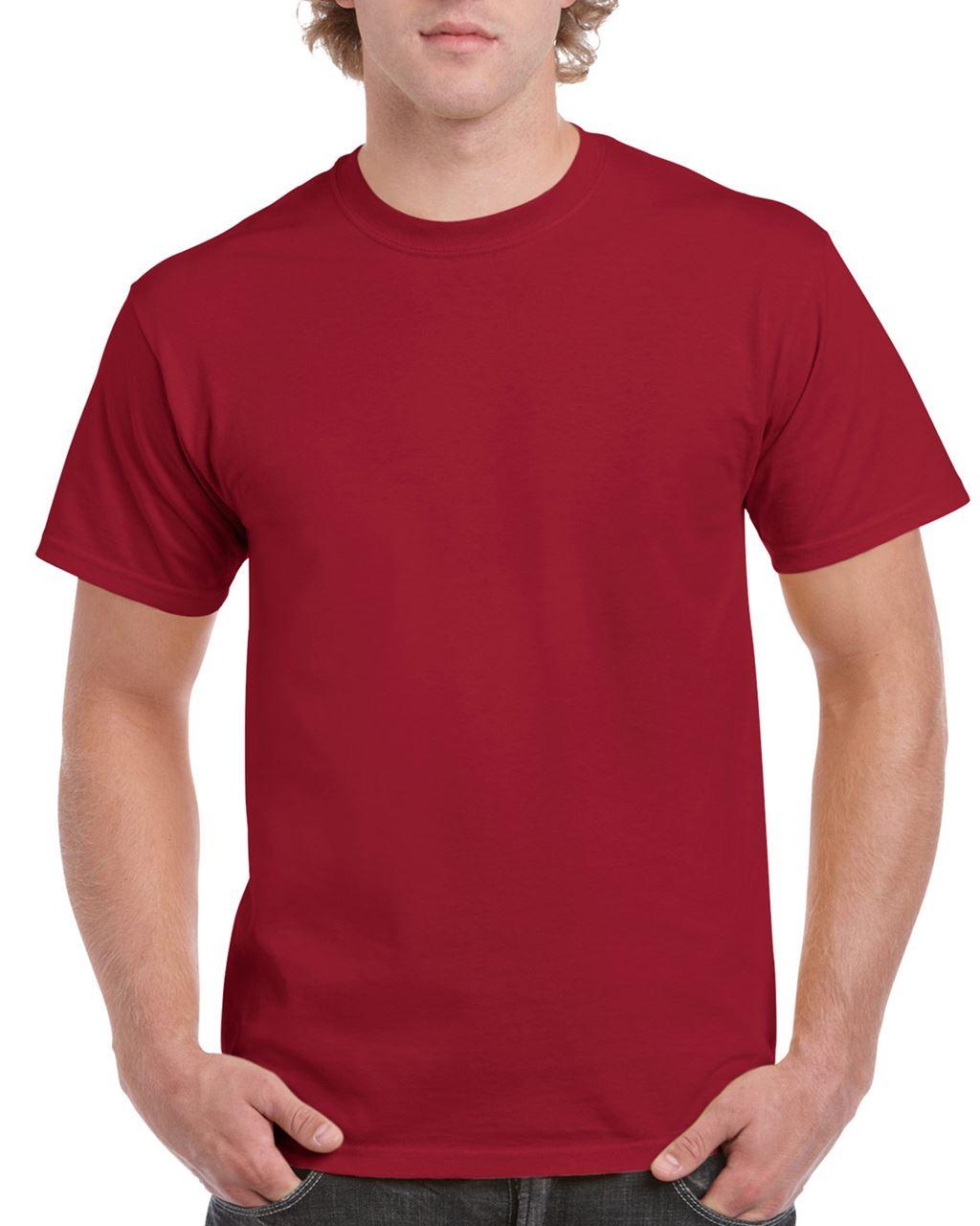 Tricou barbatesc Gildan Ultra Cotton bumbac 203 g/mp serigrafie termotransfer broderie DTG | Toroadv.ro