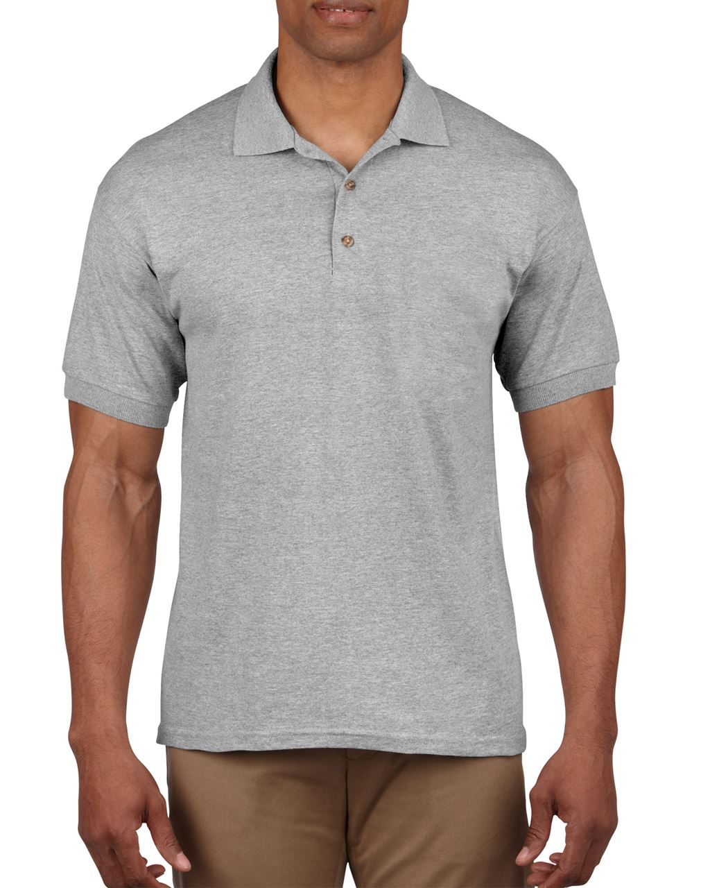 Tricou polo barbatesc Gildan Ultra Cotton bumbac 214 g/mp serigrafie termotransfer broderie | Toroadv.ro