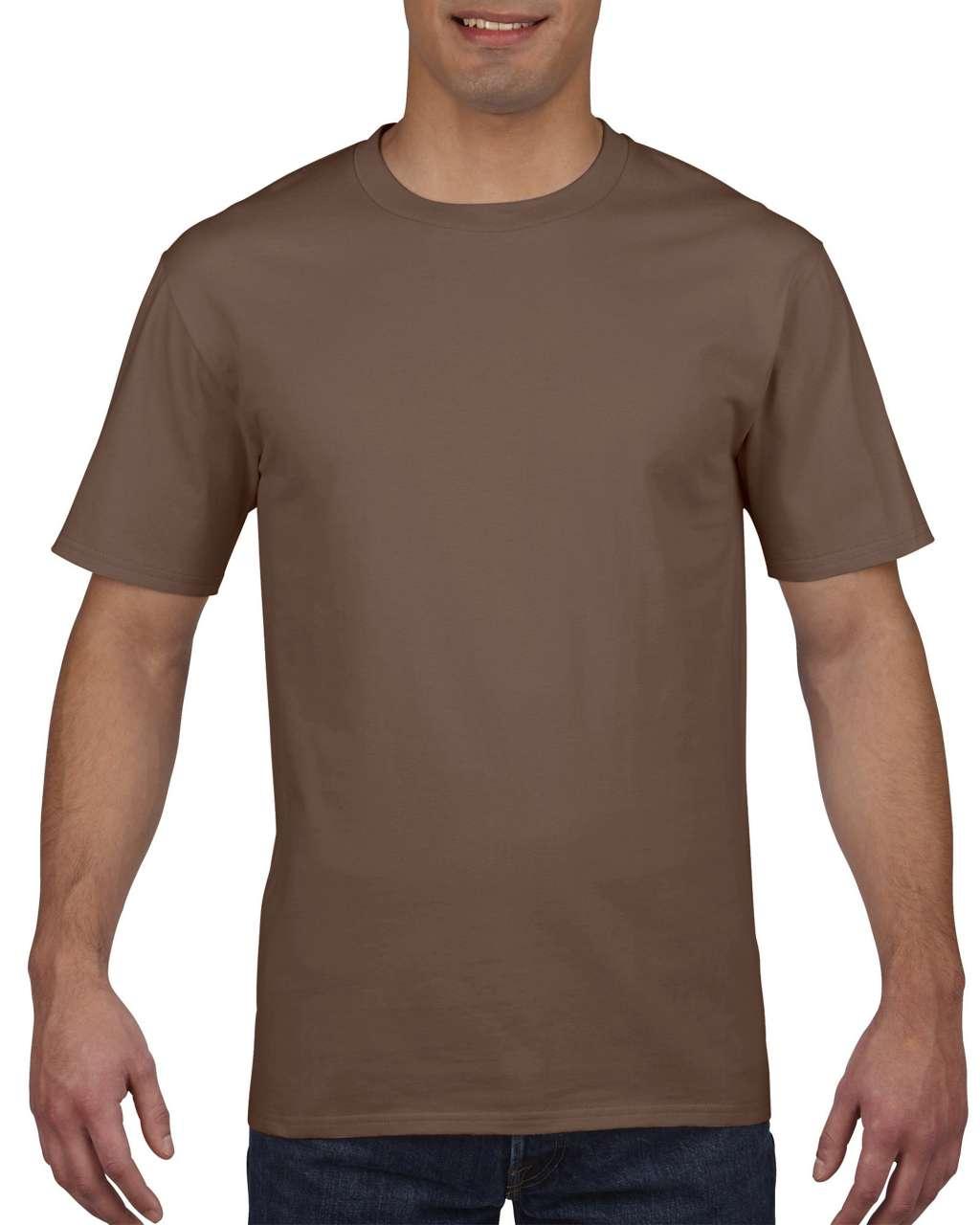 Tricou barbatesc Gildan Premium Cotton bumbac 185 g/mp serigrafie termotransfer broderie DTG | Toroadv.ro