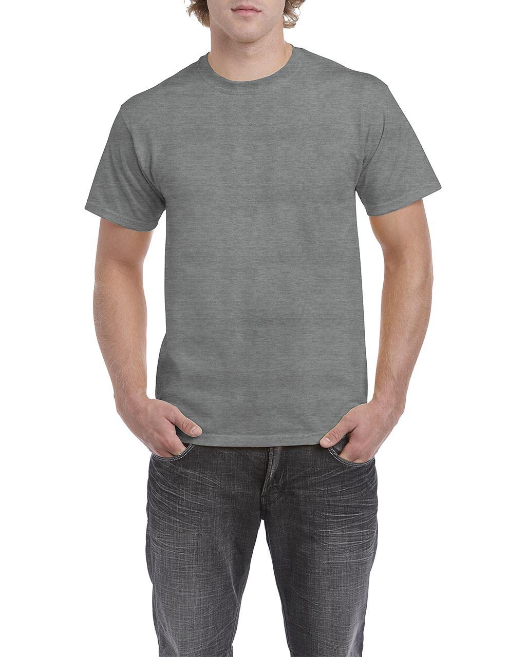 Tricou barbatesc Gildan Heavy Cotton bumbac 180 g/mp serigrafie termotransfer broderie DTG | Toroadv.ro
