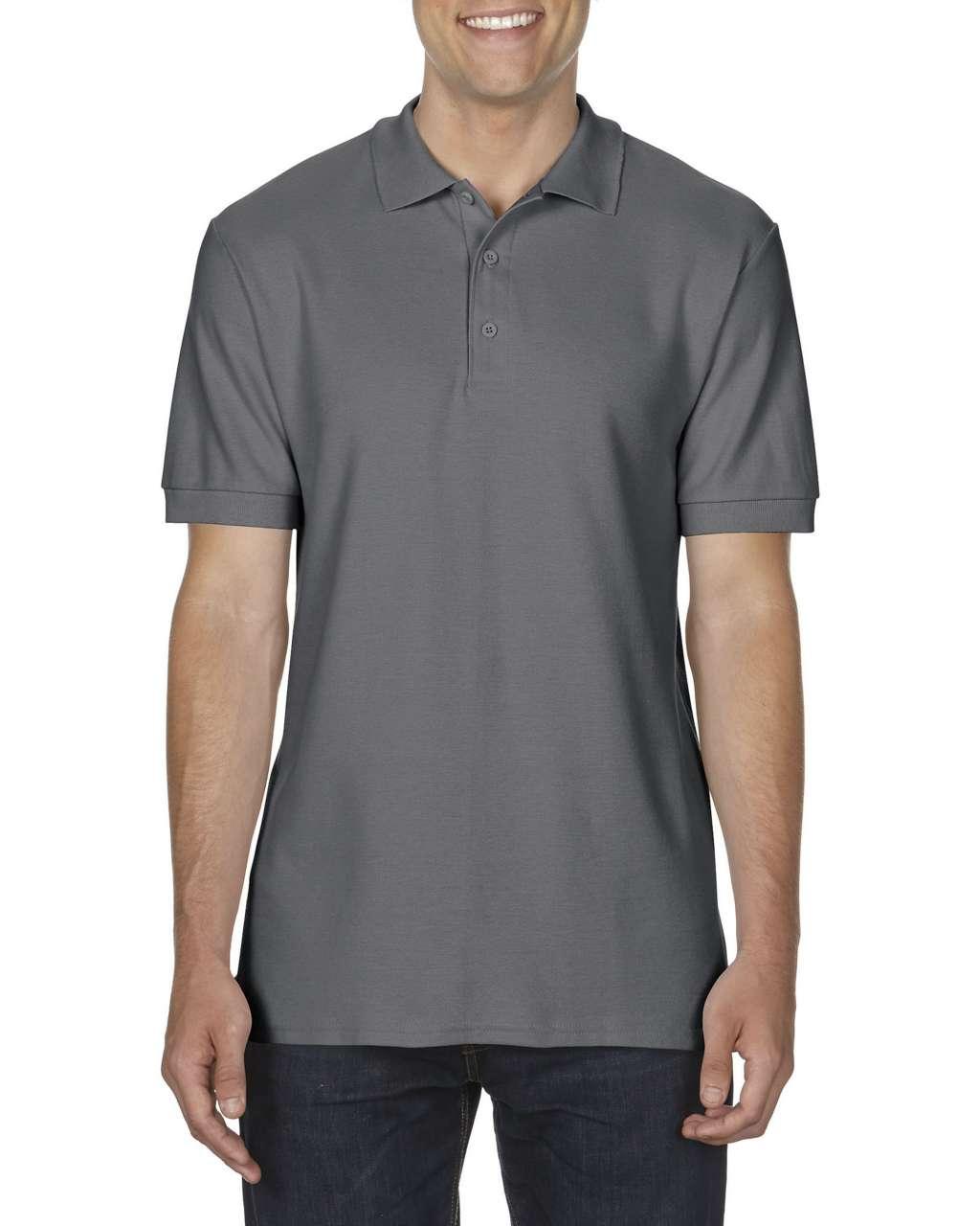 Tricou polo barbatesc Gildan Premium Cotton bumbac 223 g/mp serigrafie broderie termotransfer | Toroadv.ro