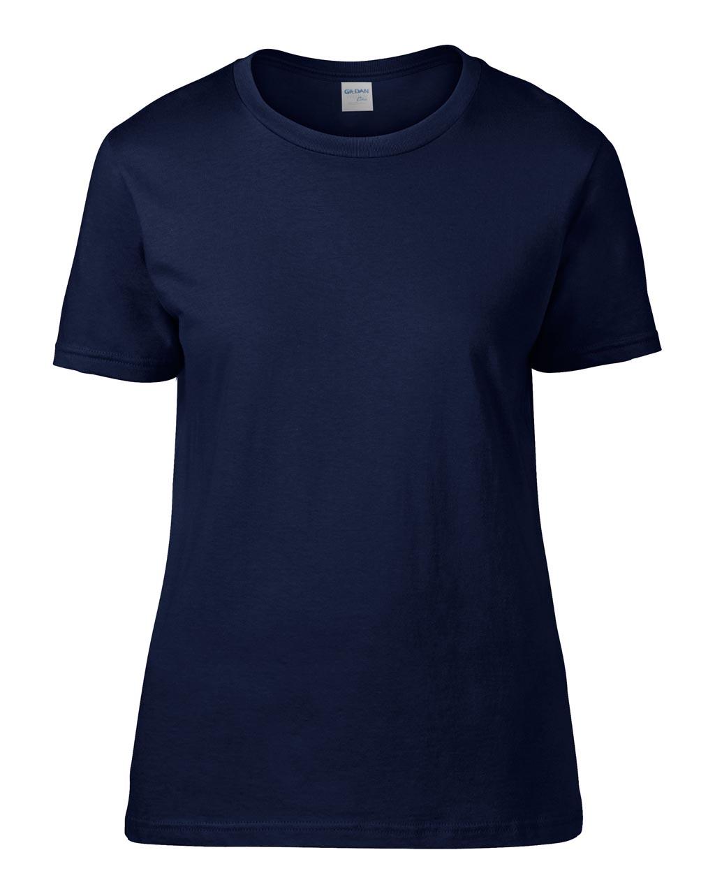 Tricou dama Gildan Premium Cotton bumbac 185 g/mp serigrafie termotransfer broderie DTG | Toroadv.ro