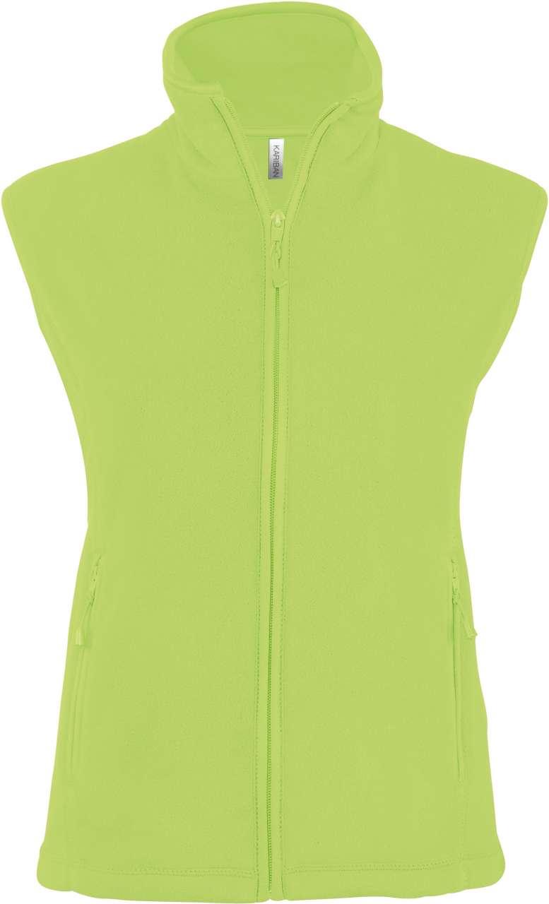 Vesta KA906 verde lime Veste jachete dama barbatesti polar fleece softshell fas gluga ploaie vant broderie serigrafie termotransfer | Toroadv.ro