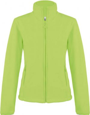 Fleece KA907 verde lime Veste jachete dama barbatesti polar fleece softshell fas gluga ploaie vant broderie serigrafie termotransfer