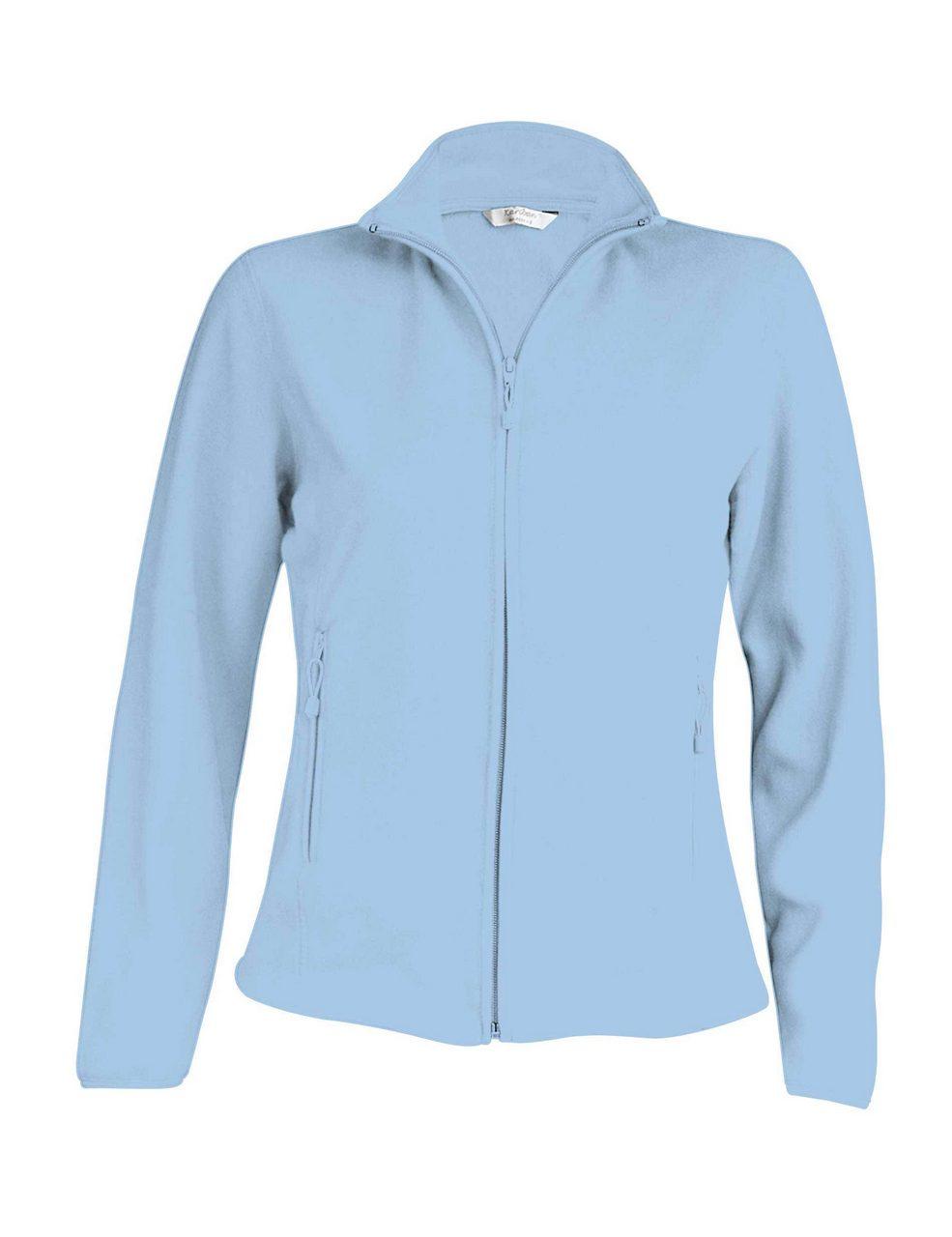 Fleece KA907 sky blue Veste jachete dama barbatesti polar fleece softshell fas gluga ploaie vant broderie serigrafie termotransfer   Toroadv.ro