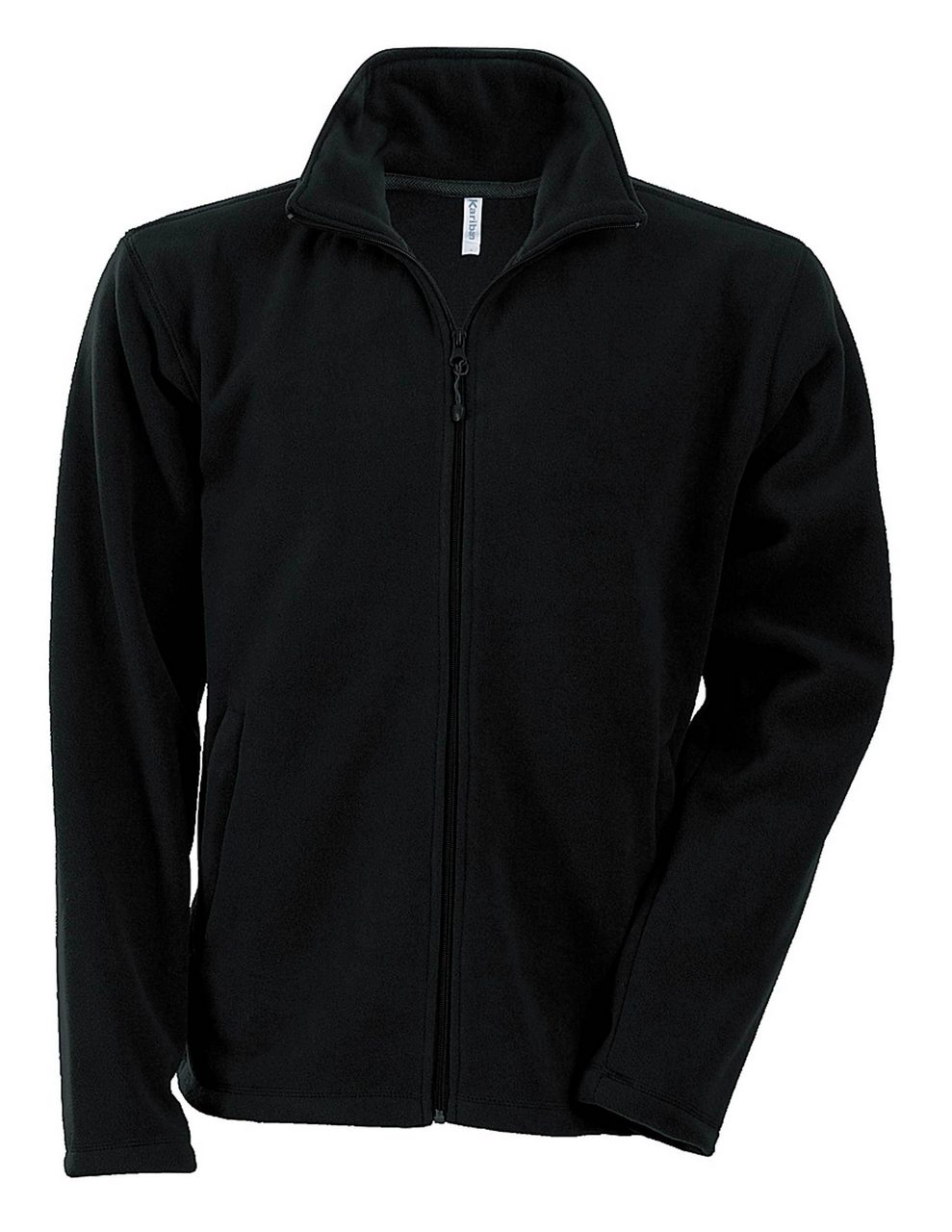 Fleece KA911 negru veste jachete dama barbatesti polar fleece softshell fas gluga ploaie vant broderie serigrafie termotransfer | Toroadv.ro
