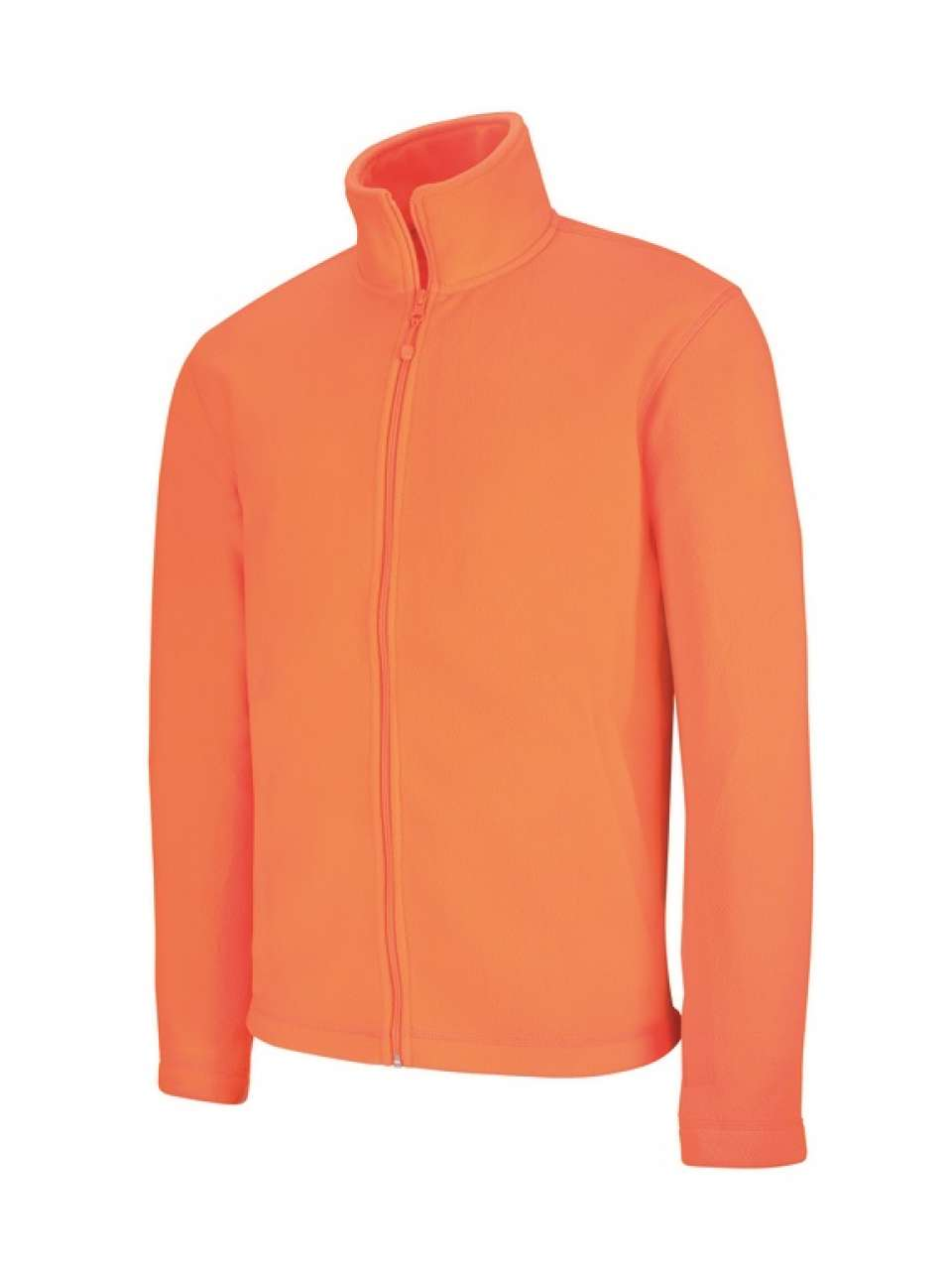Fleece KA911 fluorescent orange este jachete dama barbatesti polar fleece softshell fas gluga ploaie vant broderie serigrafie termotransfer | Toroadv.ro