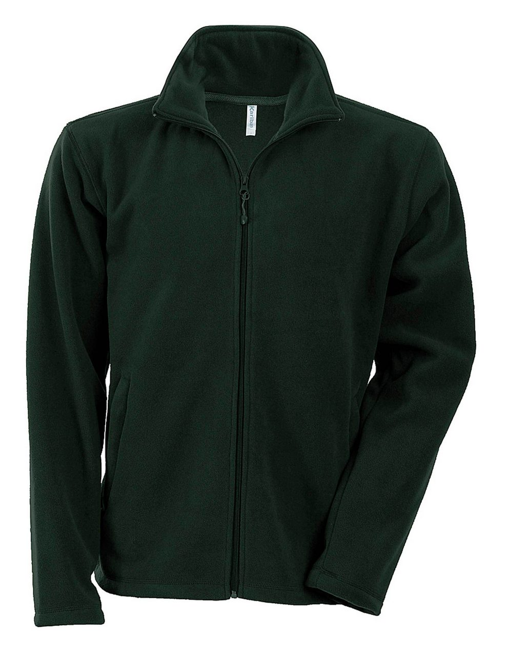 Fleece KA911 verde inchis forest veste jachete dama barbatesti polar fleece softshell fas gluga ploaie vant broderie serigrafie termotransfer | Toroadv.ro