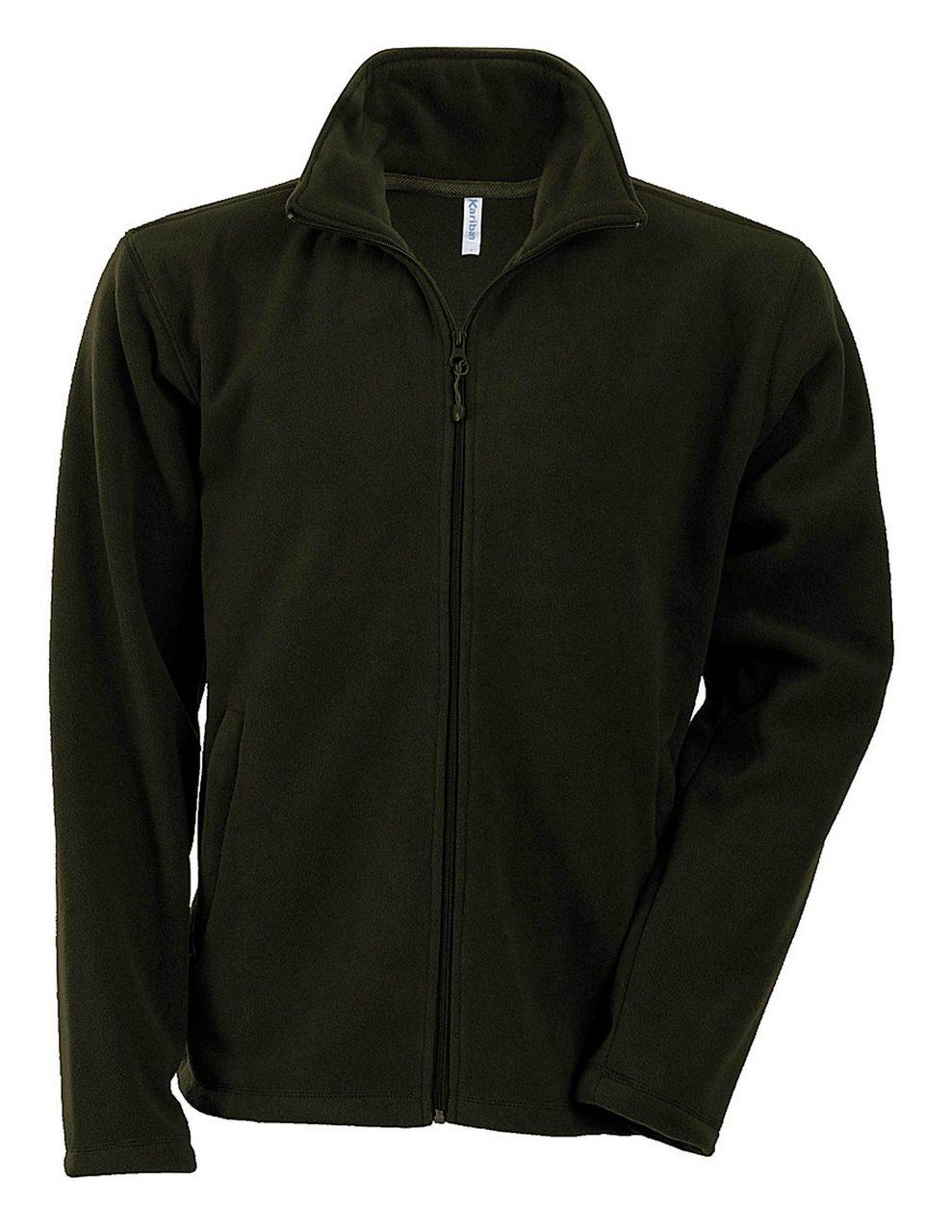 Fleece KA911 verde olive veste jachete dama barbatesti polar fleece softshell fas gluga ploaie vant broderie serigrafie termotransfer | Toroadv.ro
