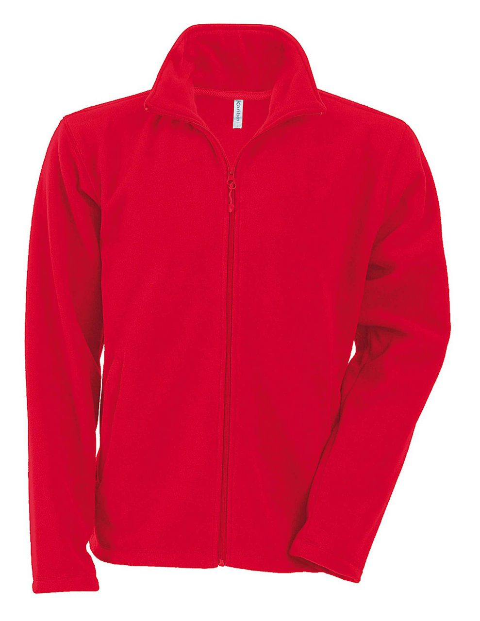 Fleece KA911 rosu veste jachete dama barbatesti polar fleece softshell fas gluga ploaie vant broderie serigrafie termotransfer | Toroadv.ro