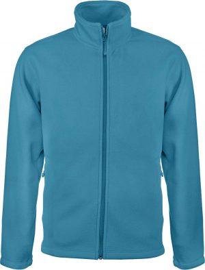 Fleece KA911 tropical blue este jachete dama barbatesti polar fleece softshell fas gluga ploaie vant broderie serigrafie termotransfer