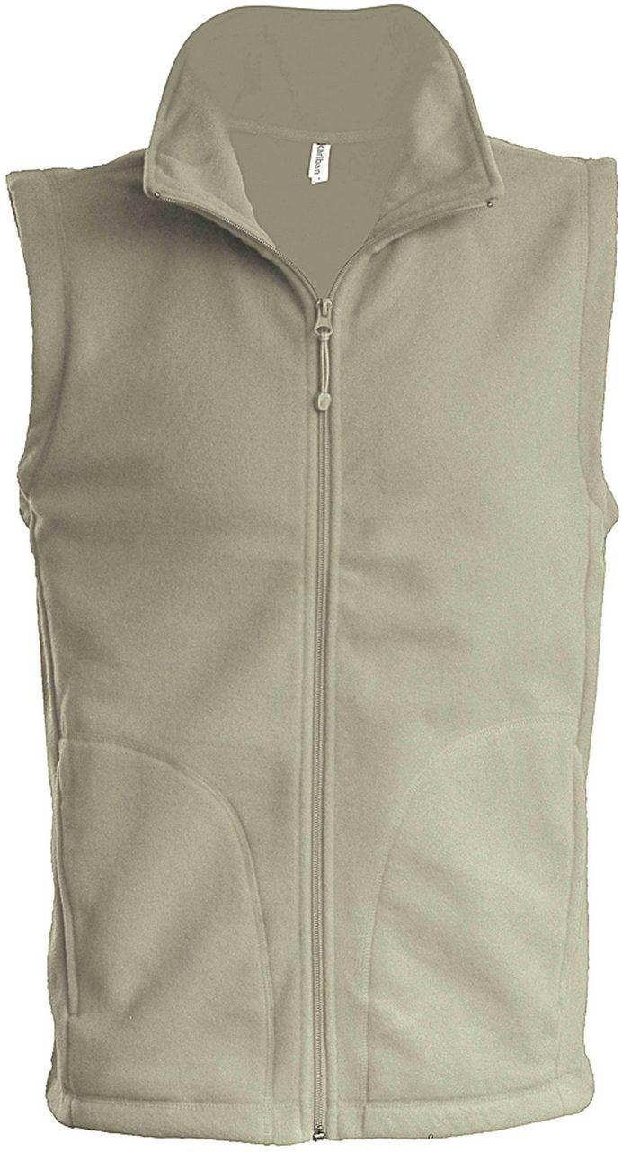 Vesta fleece KA913 bej veste jachete dama barbatesti polar fleece softshell fas gluga ploaie vant broderie serigrafie termotransfer | Toroadv.ro