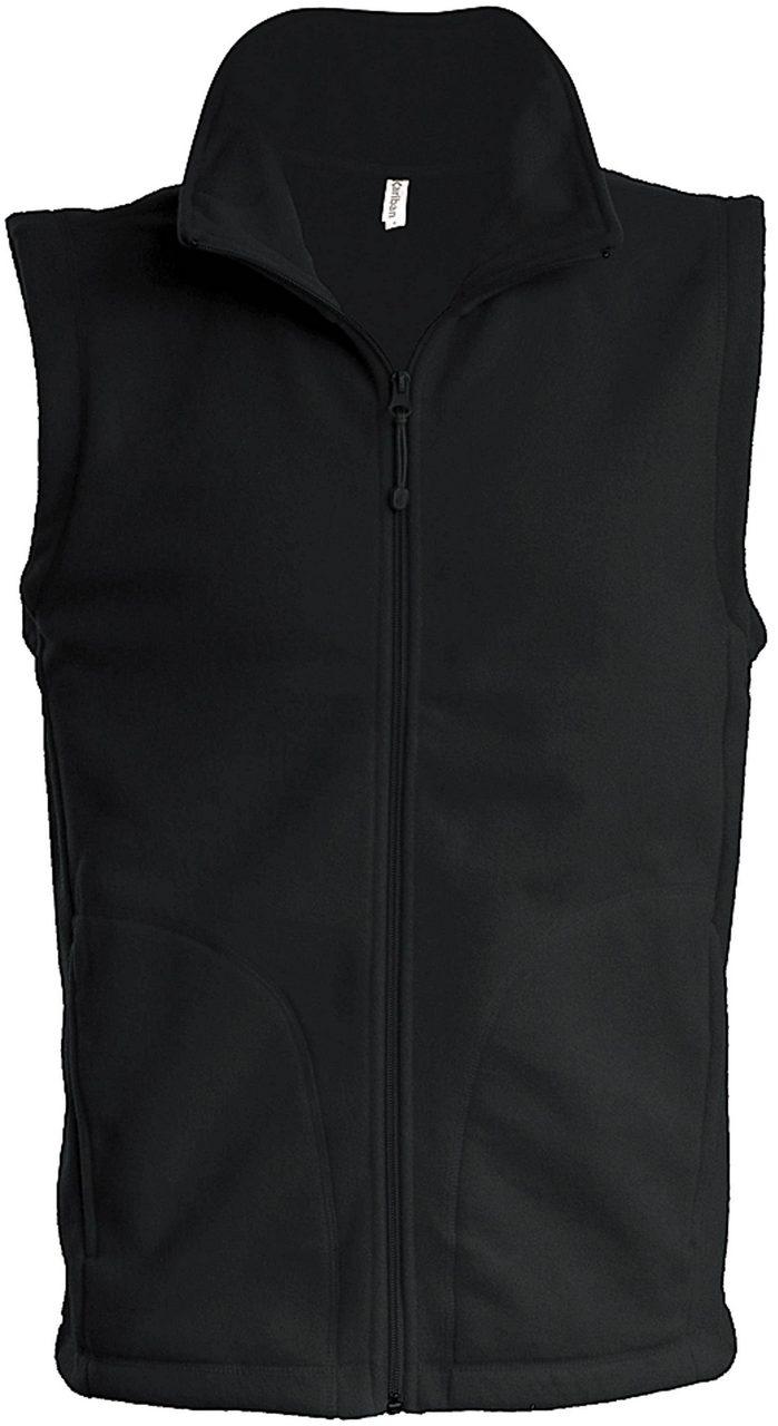 Vesta fleece KA913 negru veste jachete dama barbatesti polar fleece softshell fas gluga ploaie vant broderie serigrafie termotransfer | Toroadv.ro
