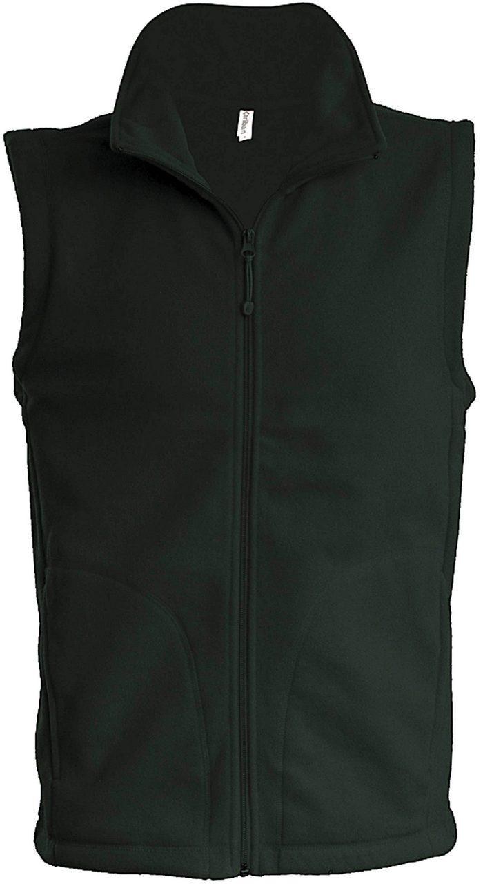 Vesta fleece KA913 verde inchis forest veste jachete dama barbatesti polar fleece softshell fas gluga ploaie vant broderie serigrafie termotransfer | Toroadv.ro
