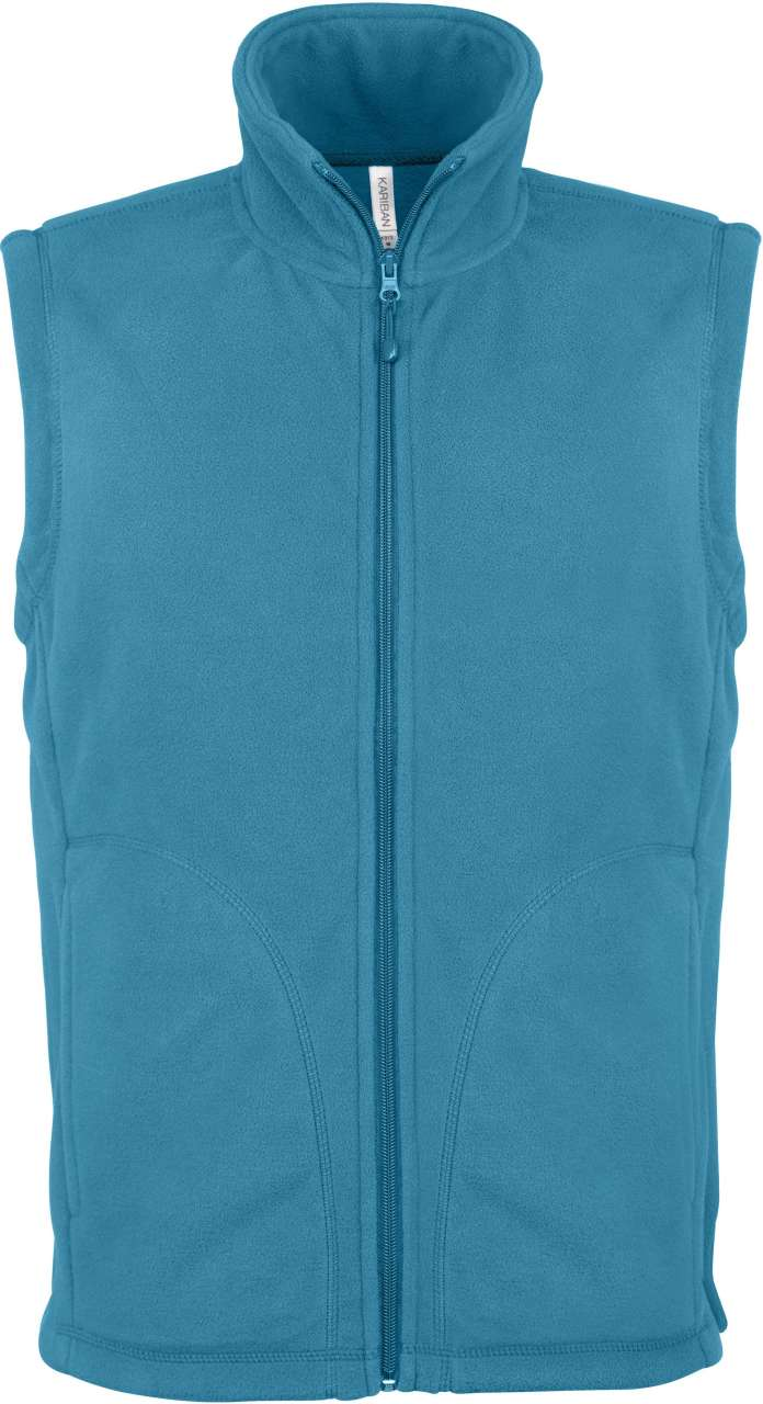 Vesta fleece KA913 tropical blue veste jachete dama barbatesti polar fleece softshell fas gluga ploaie vant broderie serigrafie termotransfer | Toroadv.ro