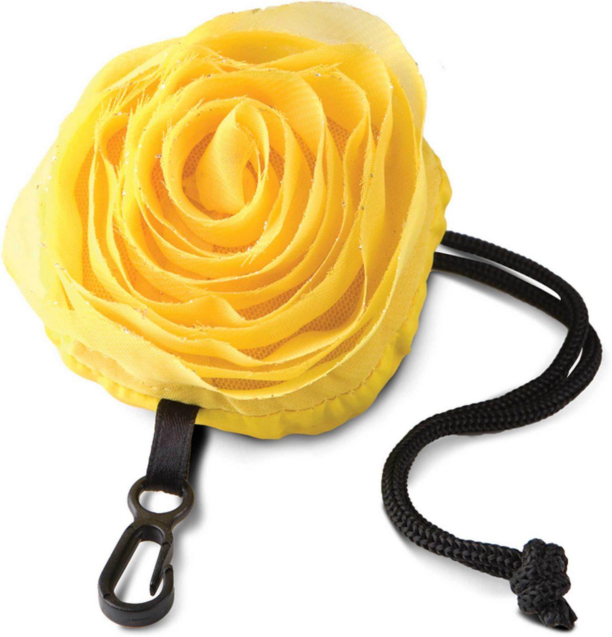 Sacosa KI0202 galbena trandafir Sacose bumbac poliester strangere cumparaturi personalizate manere lungi DTG termotransfer broderie serigrafie canvas