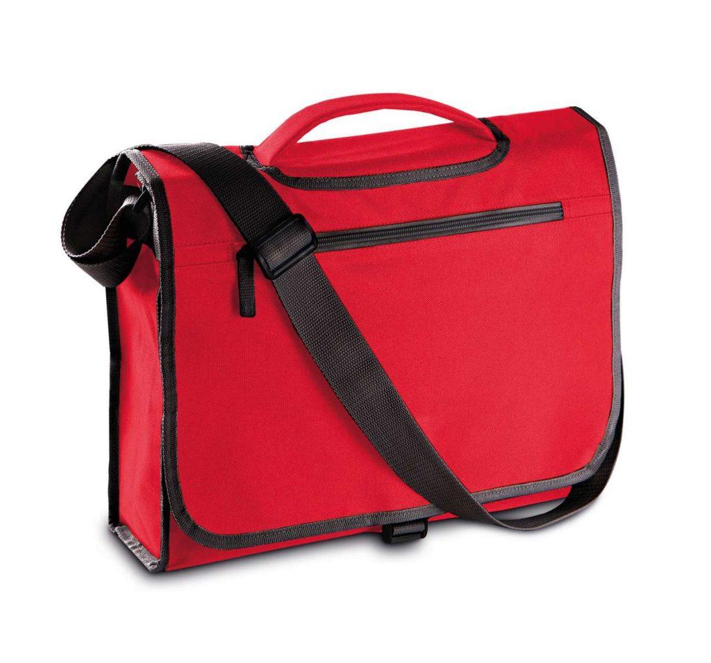 Geanta KI0403 rosie Genti rucsacuri personalizate conferinta laptop sport compartiment serigrafie broderie termotransfer