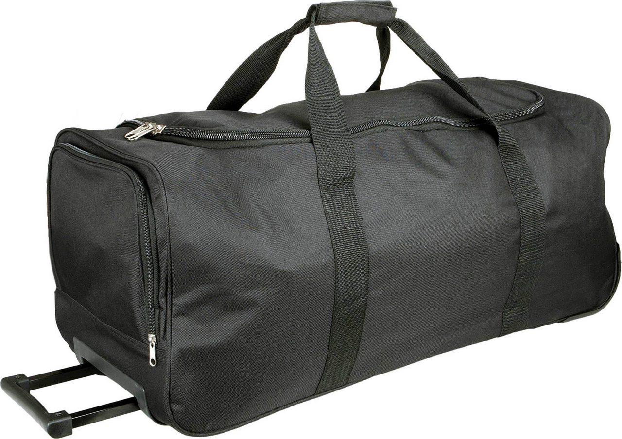 Geanta troller KI0812 neagra Genti rucsacuri personalizate conferinta laptop sport compartiment serigrafie broderie termotransfer