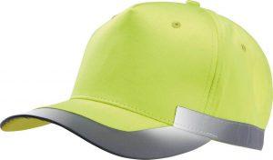Sapca KP123 fluorescent yellow galben Caciuli sepci personalizate fulare manusi acryl bumbac poliester fleece polar reglabil catarama termotransfer serigrafie broderie