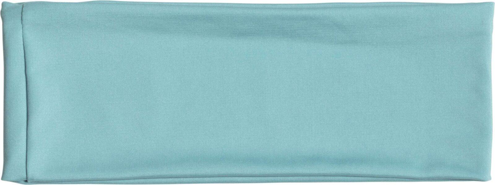 Banda cap sport KP428 albastru laguna Caciuli sepci personalizate fulare manusi acryl bumbac poliester fleece polar reglabil catarama termotransfer serigrafie broderie