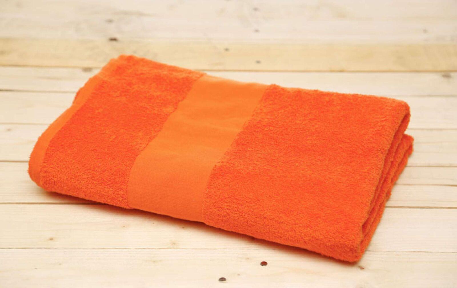Prosop OL360 portocaliu orange Prosoape bumbac plaja baie bucatarie absorbante groase personalizate spa hotel broderie diverse dimensiuni