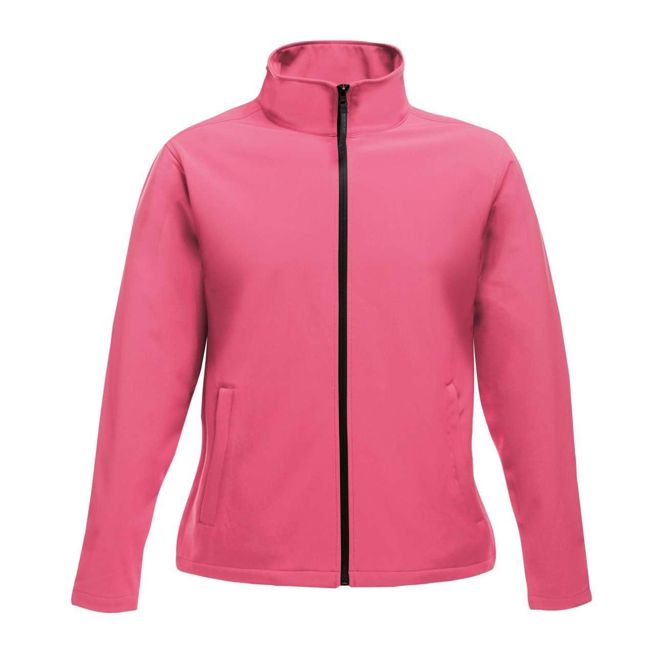 Softshell RETRA629 roz Veste jachete dama barbatesti polar fleece softshell fas gluga ploaie vant broderie serigrafie termotransfer