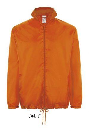 Pelerina SO01618 portocalie orange Jachete ploaie impermeabile softshell polar fleece veste termotransfer serigrafie broderie dama barbat unisex buzunare membrana anti vant