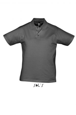 Tricouri polo SO11377 gri inchis Prescott dama barbatesti corporate bar maneca scurta maneca lunga broderie serigrafie termotransfer