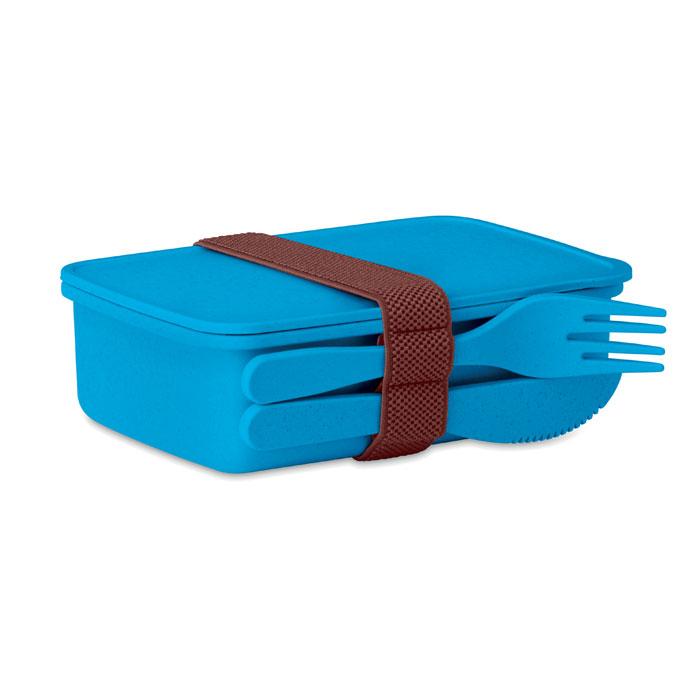 Caserola albastru mo9425 bambus polipropilena tacamuri eco-friendly personalizare tampografie