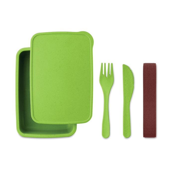 Caserola verde lime mo9425 bambus polipropilena tacamuri eco-friendly personalizare tampografie