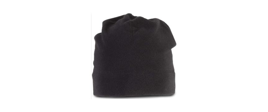 caciula fleece neagra