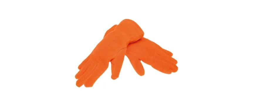 1863 portocaliu orange Manusi fular caciuli acryl thinsulate fleece sepci lanyard plastic rPET reciclat eco friendly protejam mediul personalizate