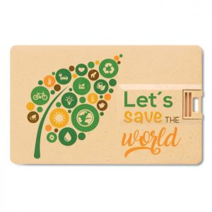 USB card eco friendly