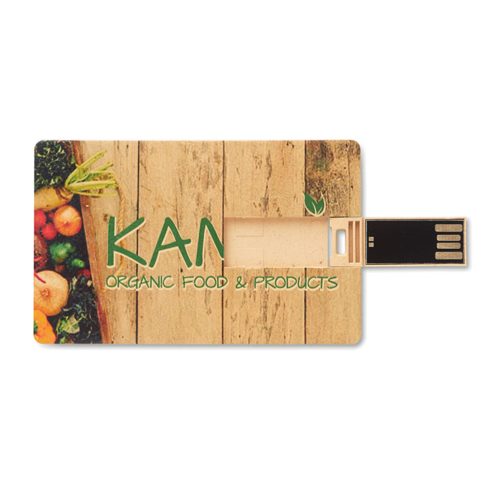 USB card eco friendly full print