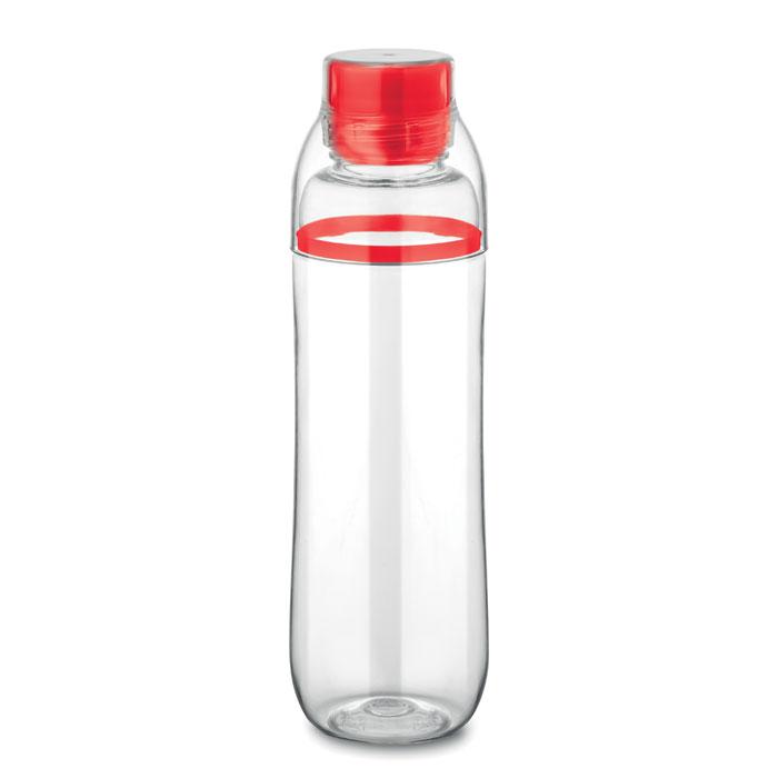 Sticla tritan rosie mo8656 BPA free 700 ml personalizare gravura laser tampografie, sticker