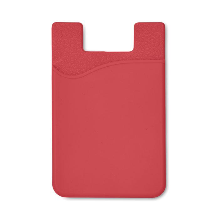 Port card RFID rosu mo8736 silicon protectie banda adeziv 3M personalizare tampografie