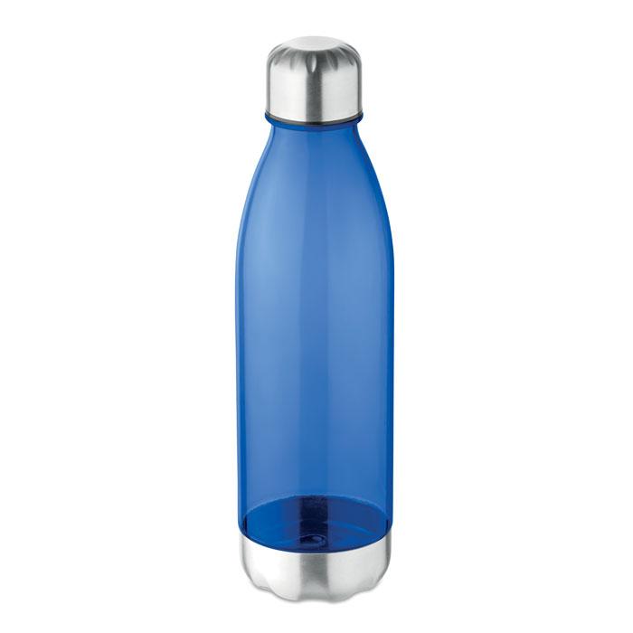 Sticla tritan albastra mo9225 BPA free 600 ml personalizare gravura laser tampografie, sticker