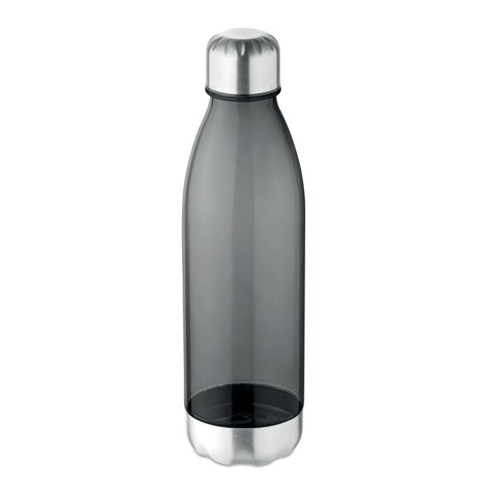 Sticla tritan neagra mo9225 BPA free 600 ml personalizare gravura laser tampografie, sticker
