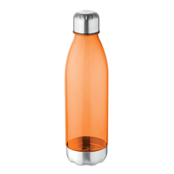 Sticla tritan portocalie mo9225 BPA free 600 ml personalizare gravura laser tampografie, sticker