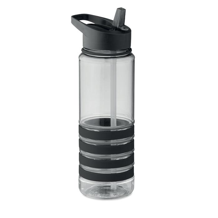 Sticla tritan neagra mo9226 BPA free 750 ml personalizare gravura laser tampografie, sticker