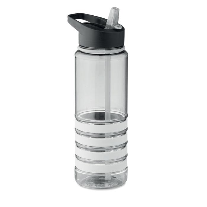 Sticla tritan alba mo9226 BPA free 750 ml personalizare gravura laser tampografie, sticker
