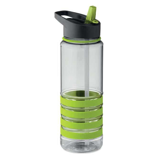 Sticla tritan verde lime mo9226 BPA free 750 ml personalizare gravura laser tampografie, sticker